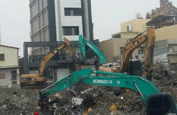 台南唯冠大樓救災-建物拆解清除