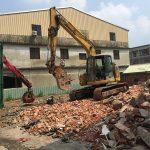 案場:台中市大里區福溝巷舊屋拆除工程